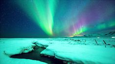 """Epic Aurora Borealis Over Greenland And Iceland """"I recently traveled to Greenland and Iceland to shoot the arctic Aurora, and my new video """"Two Lands – Greenland 