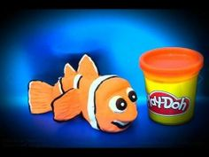 Play-Doh Finding Nemo Pixar play doh How to make Nemo
