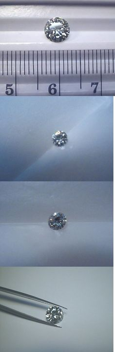 Synthetic Moissanite 110800: Moissanite 3 4 Carat 6 Mm Round Forever Classic Regular Loose Charles And Colvard -> BUY IT NOW ONLY: $91.99 on eBay!