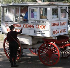 Roman Candy Man..... I must find him next time in New Orleans because I want to try some Roman Candy!!!!