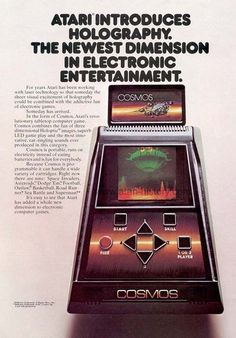 Atari's holography experiments and the never released Cosmos