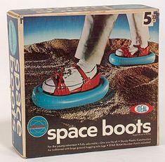 Space Boots - was für Verschwörungstheoretiker :D