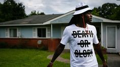 Bengals' Dre Kirkpatrick: The hard way every time. Photo: Cincinnati Bengals fourth-year corner back Dre Kirkpatrick, 25, stands in front of his childhood home as he describes growing up in the troubled Oakleigh Estates neighborhood of Gadsden, Ala., on Friday, June 12, 2015.