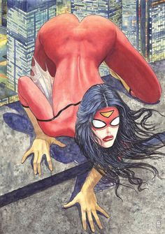 Marvel has canceled planned Milo Manara variant covers after the uproar over his oversexualized take on Spider-Woman. Marvel Comics, Ms Marvel, Heros Comics, Bd Comics, Marvel Women, Comics Girls, Marvel Heroes, Anime Comics, Frank Cho