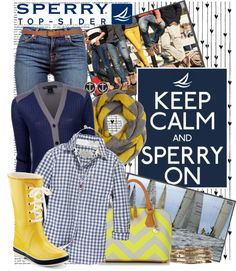 """""""Weekend Wear with Sperry Top-Sider"""" by crystal85 ❤ liked on Polyvore"""