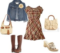 """""""Cute dress for any season!"""" by foglemans ❤ liked on Polyvore"""