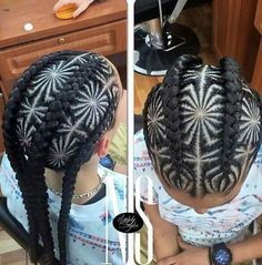Spider cornrows... Your f***ing kidding!! Omg