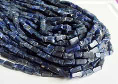 5 Strands WHOLESALE Sodalite Stone Natural Blue by gemsforjewels