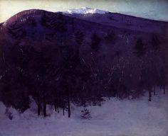 Monadnock, Abbott H Thayer by Painter's Reference, via Flickr