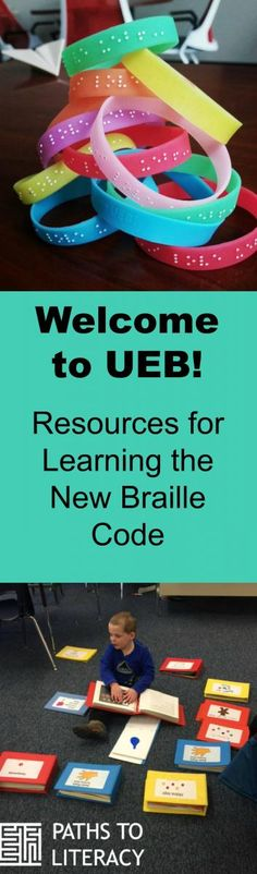 Find all the resources you need to learn about UEB (Unified English Braille).