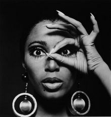 Donyale Luna (August 31, 1945 – May 17, 1979) was an American model and cover girl. She also appeared in several films, in Camp (1965) by Andy Warhol, Qui êtes-vous, Polly Maggoo? (1966) by William Klein, as Groucho Marx's companion in Otto Preminger's Skidoo (1968), and most notably as Oenothea in Federico Fellini's Satyricon (1970) and as the title character in Salomé (1972), a film by director Carmelo Bene.