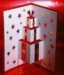 Pop Up Christmas Cards Handmade Christmas Card Ideas Children Pop Up Christmas Cards, Homemade Christmas Cards, Pop Up Cards, Christmas Greeting Cards, Christmas Art, Christmas Greetings, Homemade Cards, Christmas Decorations, Christmas Ideas