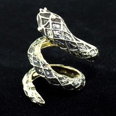 Snake Wrap Ring now featured on Fab.