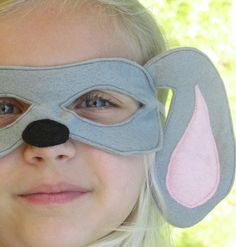 Puppy Dog Mask by SevenFeathersTribe on Etsy, $18.00
