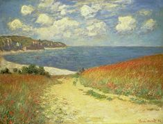 Claude Monet - Path in the Wheatfield at Pourville 1882