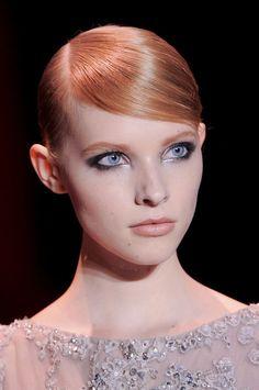 Elie Saab Fall 2013 - pretty eye make up at elie saab
