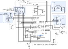 Gammon Forum : Electronics : Microprocessors : Alarm clock from Atmega328 and 7-segment display