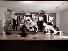 #Ultimosretoques Puesta en escena del #Guernica en la #IiSemanadelaIgualdad