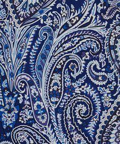 Liberty London Navy Felix Raison Silk Tie   Ties by Liberty London   Liberty.co.uk