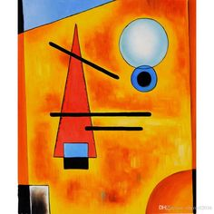 The Russian painter Wassily Kandinsky claimed, or has been credited with, the 'creation' of abstract art. Kandinsky Art, Wassily Kandinsky Paintings, Abstract Painters, Abstract Art, Abstract Drawings, Abstract Landscape, Most Famous Paintings, Art Blog, Art Lessons