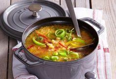 clickpoftabuna.ro gateste-sanatos ciorba-de-linte index.html Thai Red Curry, Ramen, Japanese, Ethnic Recipes, Food, Japanese Language, Essen, Meals, Yemek