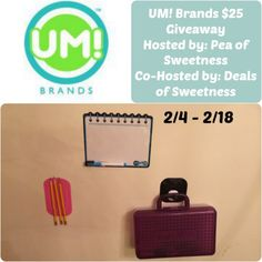 UM! Brands Giveaway – Ends 2/18/14 | My Silly Little Gang