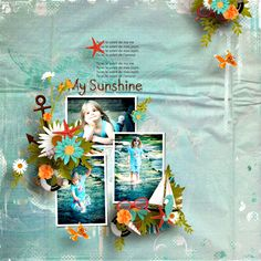 Made with the kit In The Sun by PrelestnayaP available at PBP here https://www.pickleberrypop.com/shop/product.php?productid=44804  Template Scrap Art Sunny Day 3 by Heartstring  All photos by Chelisa used with her kind permission !