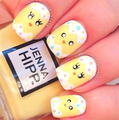 30+ Best Easter Nail Art Designs, Ideas, Trends & Stickers 2015 ...