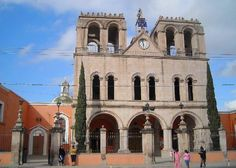 Church in Los Rodigues, Mexico