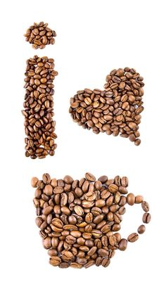I LOVE COFFEE, IPHONE WALLPAPER BACKGROUND