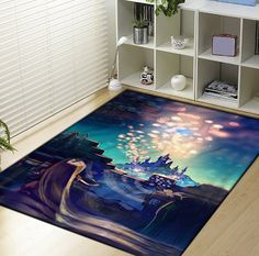 Disney Tangled rapunzel Princess Blanket I LOVE THIS