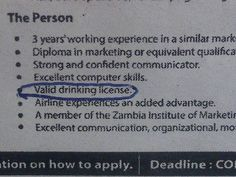 Only in #Zambia?