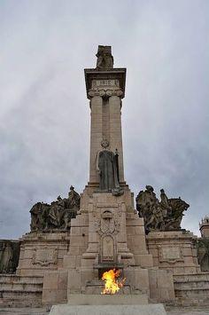 Monumento a la Constitución de 1812 en la plaza de España de #Cadiz