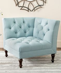 Sky Blue John Club Chair.  No idea where I would put this, but I want it all the same.