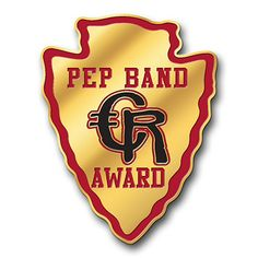 Pep Band Award Arrowhead