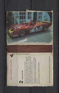 Ferrari 312 PB Fosforos Del Pirineo Matchbox label/Streichholzheftchen | eBay