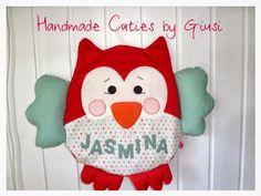 Handmade Cuties ❤ by Giusi : Eule Kulla einmal anders ;-)