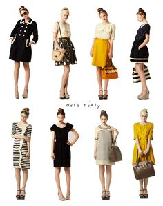 jewelry at the beach= best 2013 style spring. Love these outfits Work outfit comfy Look Fashion, Retro Fashion, Autumn Fashion, Vintage Fashion, Fashion Design, Fashion Rocks, Style Chinois, Summer Dress, Zooey Deschanel