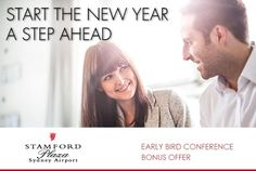 Start the New Year a step ahead with this early bird Conference Offer