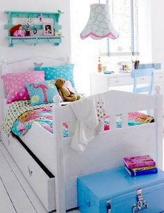 infantiles coloridas colorful bedroom decor