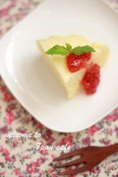 「しっとリッチな蒸しケーキ」nana | お菓子・パンのレシピや作り方【corecle*コレクル】