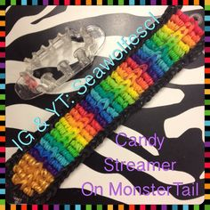 Candy Streamer on MonsterTail tutorial by Sea Wolfe.