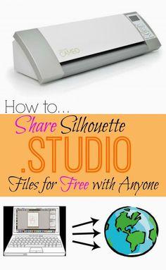 Silhouette School: Share Silhouette Studio Files Easily (Tutorial)