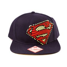 Gorra Béisbol Superman. Man of Steel. Snap Back Logo 38b4a8c9811