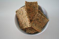 Zelfgemaakte gezonde crackers
