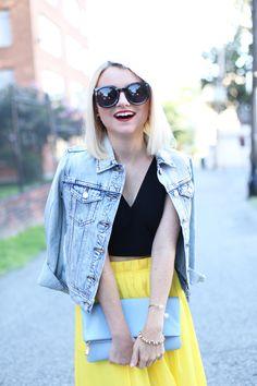 GiGi New York | Poor Little It Girl Fashion Blog | Ocean Fold Over Clutch