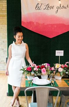 """""""Let Love Grow"""" Garden Bridal Shower - Inspired by This"""