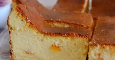 Kitchen Notes M.: Traditional moist cheesecake on a pastry base. Kitchen Notes, New Years Eve Party, Cheesecakes, Cornbread, Baked Goods, Creme, Banana Bread, Cooking Recipes, Baking