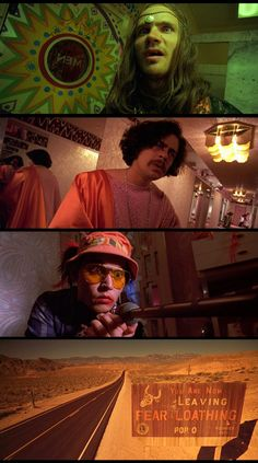 Fear and Loathing in Las Vegas, 1998 (dir. Terry Gilliam)