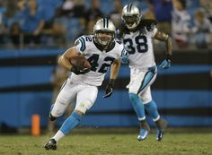 from Carolina Panthers Jones' second pick sealed the win